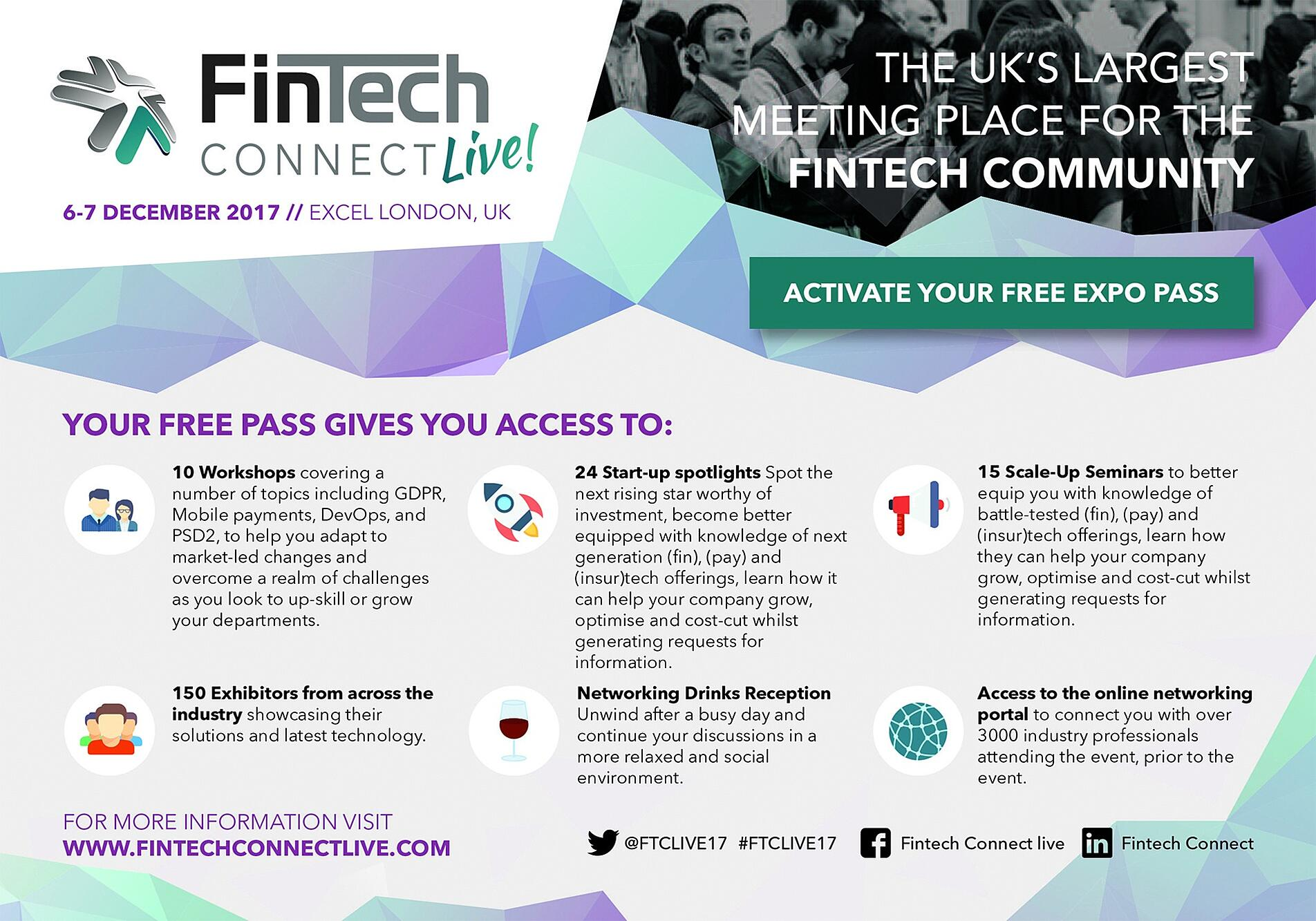 Blufx are attending fintech connect 2017 the revolutionary proprietary trading solution will be at stand p27 for all 2 days malvernweather Images
